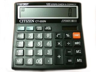 Калкулатор Ситизен Citizen CT 555 N